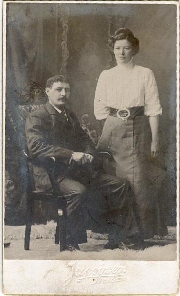 Oldemor Kaspara og oldefar Jonas