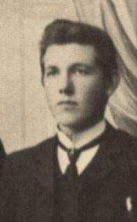 Abel Magnus Paulsen (1884-1963) ca 1905.