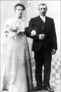 Ingrid Paulsen og Simon Christensen 18. juli 1906