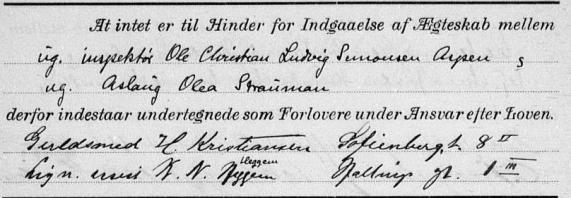Lysningsprotokoll nr. 2 for Fagerborg kirke 1910-1918, Forloverprotokoll nr. 2, desember 1917