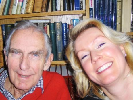 Ole Christian og jeg i 2007