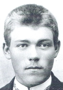 Min farfar Ingevart som ung mann