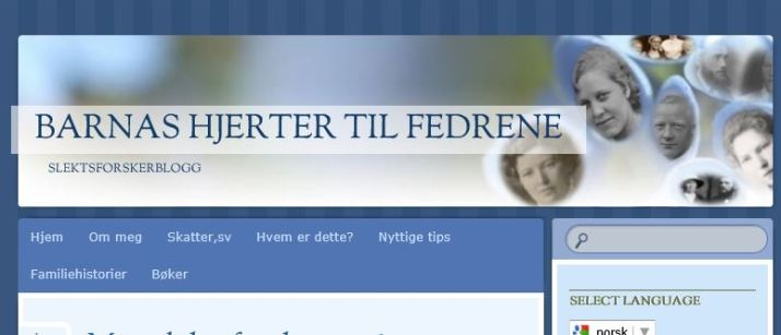 Slektsbloggen min er flyttet til www.tilfedrene.com